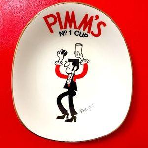 Vintage mid-century Pimm's dish